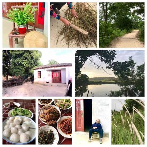 Farm stay Hubei China • 3 meals provided