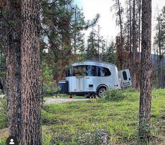 Backyard Airstream Basecamp