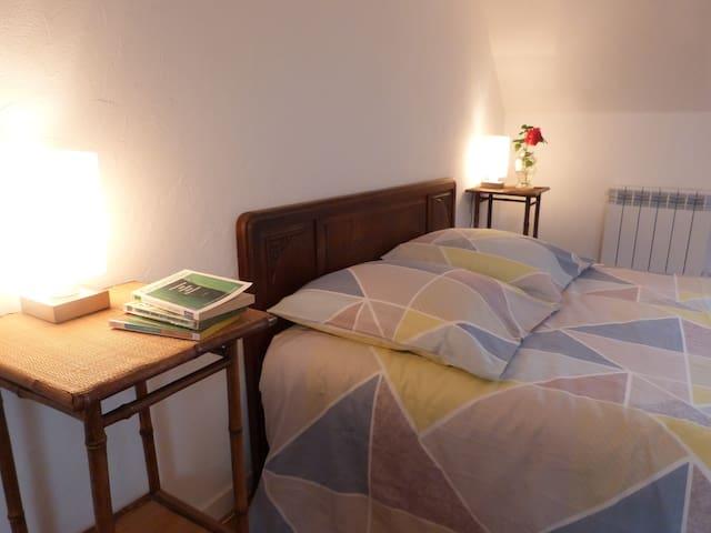 Deux chambres privées confortables.