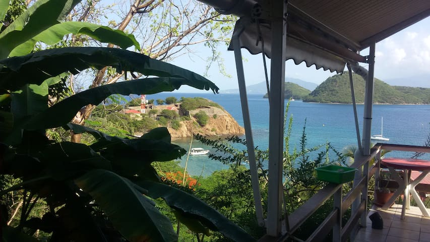 la colline aux saintes - Basse-Terre - Apartment