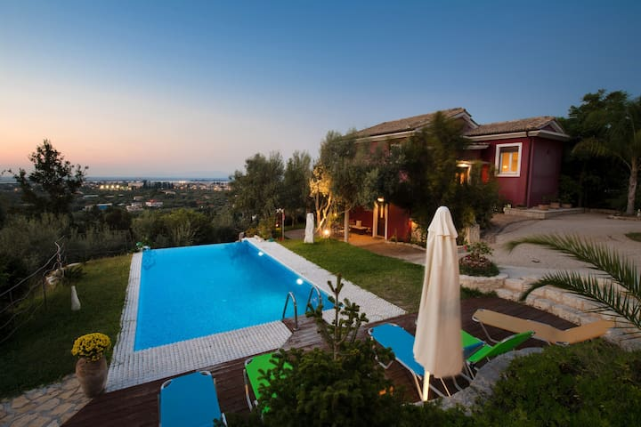 Alea Resort - Villa Dioni with a  great sea view - Levkas