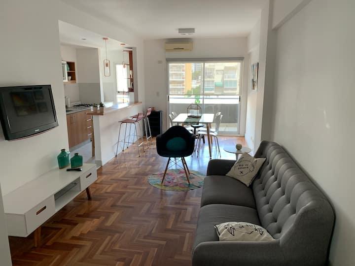 Moderno y cálido departamento a metros de Palermo