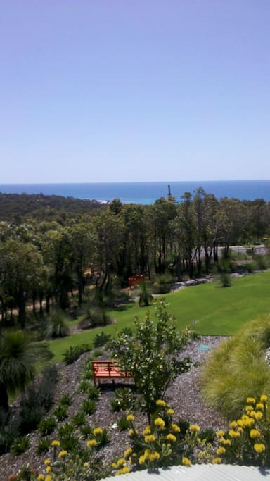 Views from the Studio through to Eagle Bay and Cape Naturaliste National Park