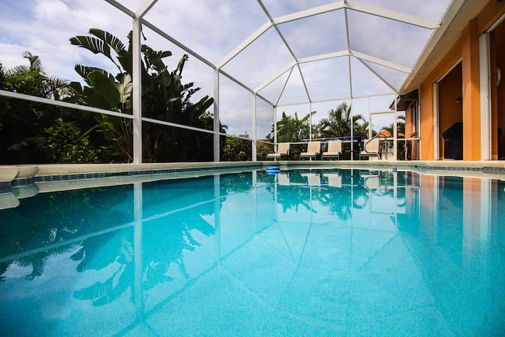 """Villa""""Pine Isand"""" in SW Cape Coral with Pool"""