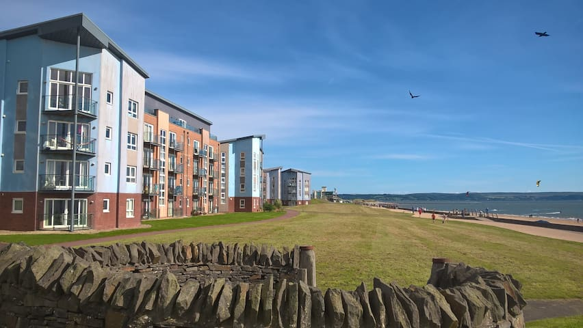 Stylish Coastal Park Apartment - Llanelli - Apartment