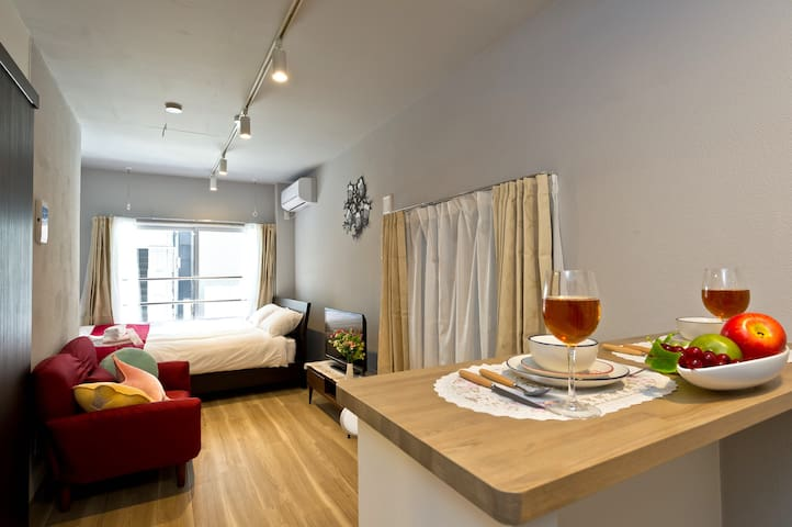 Ginza area. 2BR new apartment