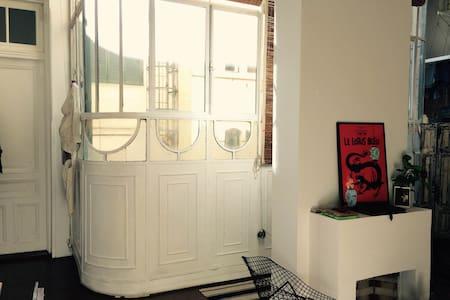 Cozy room w/pvt bathroom, old building, San Telmo. - Buenos Aires - Apartment