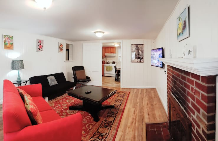 Self-Entrance&Mins2DC&2bedroom&KingBed&FreeParking