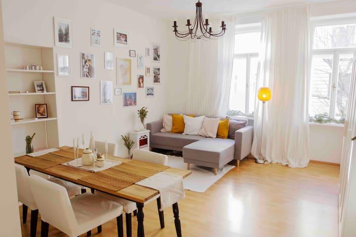 ~Praterpark Cozy Apartment~ (close metro station)