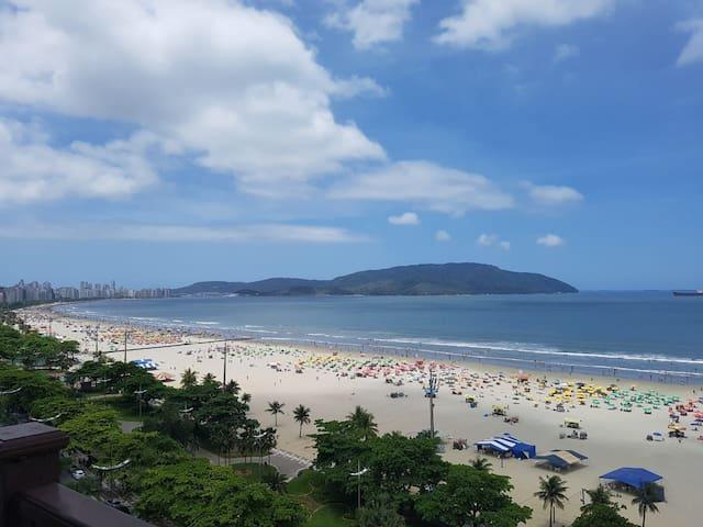A Melhor Vista e Localização de Santos.