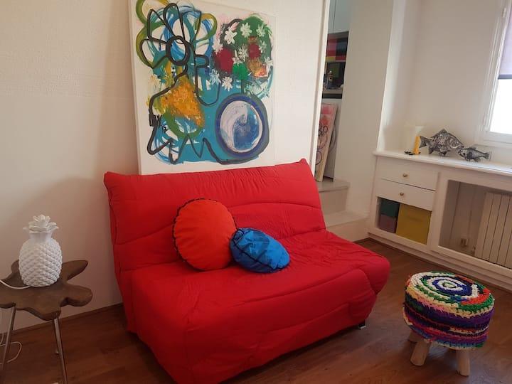 Studio lumineux & calme rénové idéal vacances
