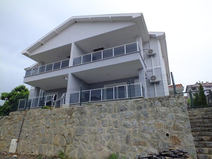 Sapanca'da göl ve dağ manzaralı kiralık villa 5