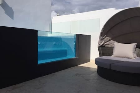 Luxury Penthouse w/private jacuzzi. ANAH Downtown. - Playa del Carmen - Apartment