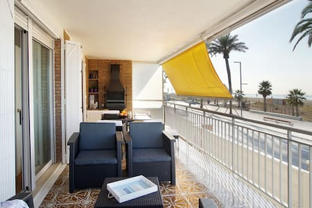 Front beach apartment Be my Guest Castelldefels - Castelldefels - Appartamento