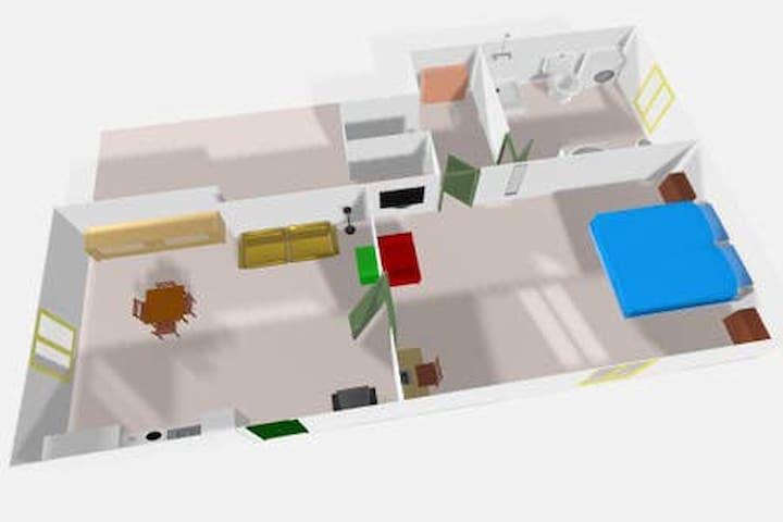 Rendering alloggio