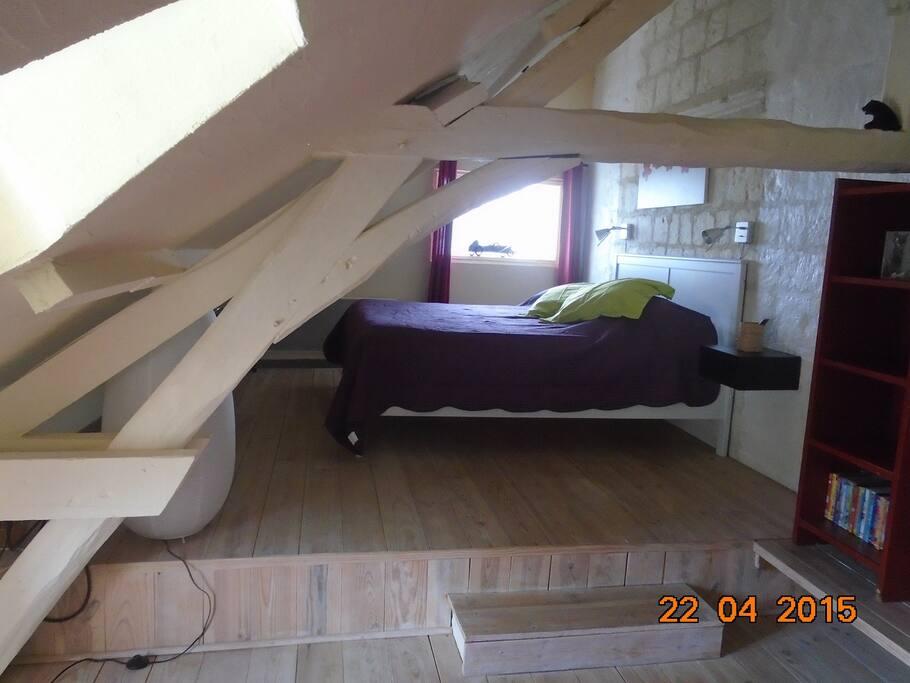 seconde chambre avec salle-de-bains