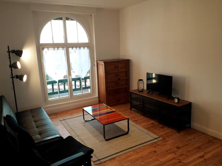 Charmant appartement à 150m de la plage
