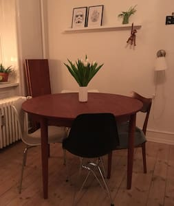 Charming two room apartment near heart of CPH - København - Flat