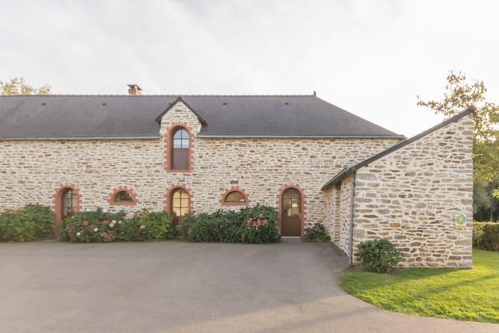 "Grande Maison Spacieuse""Tiegezh"" groupe, Séminaire - Saint-Dolay - House"