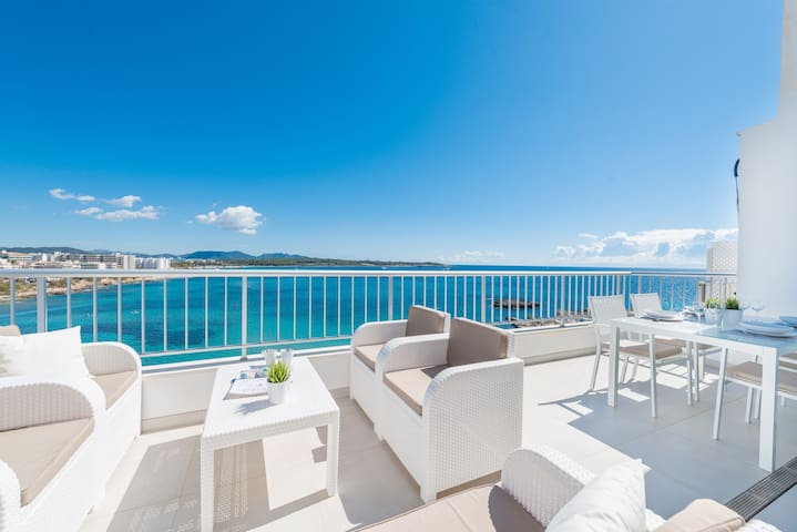 LUISAMAR SEA VIEW - Apartment with sea views in S'illot.