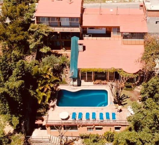 Divina casa en Cuernavaca, con magnífico clima