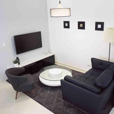 Se alquila apartamento de una habitación en piantini
