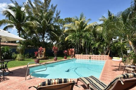 Private Villa Espagna Oasis at Ft Lauderdale Beach - フォートローダーデール