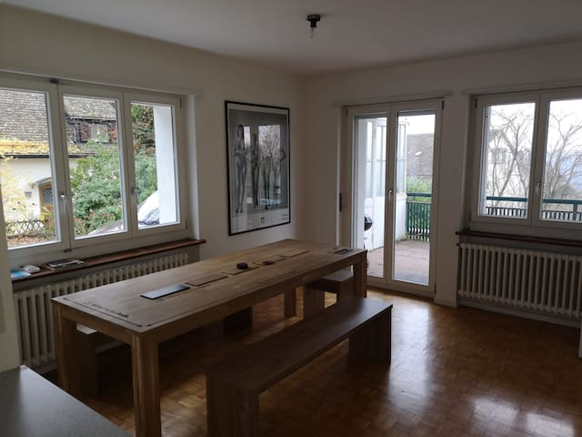 House in quiet area 3.5 km from city center