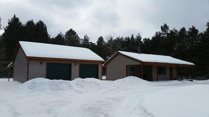 Hemlock 3 BR home on acreage