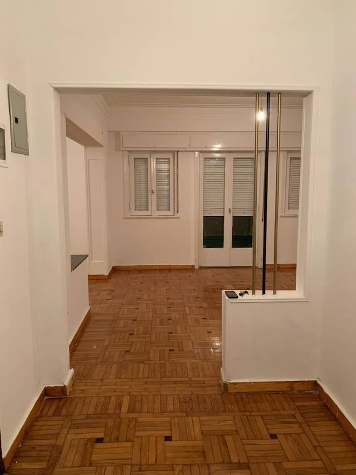 No furniture apartment first floor 220 M