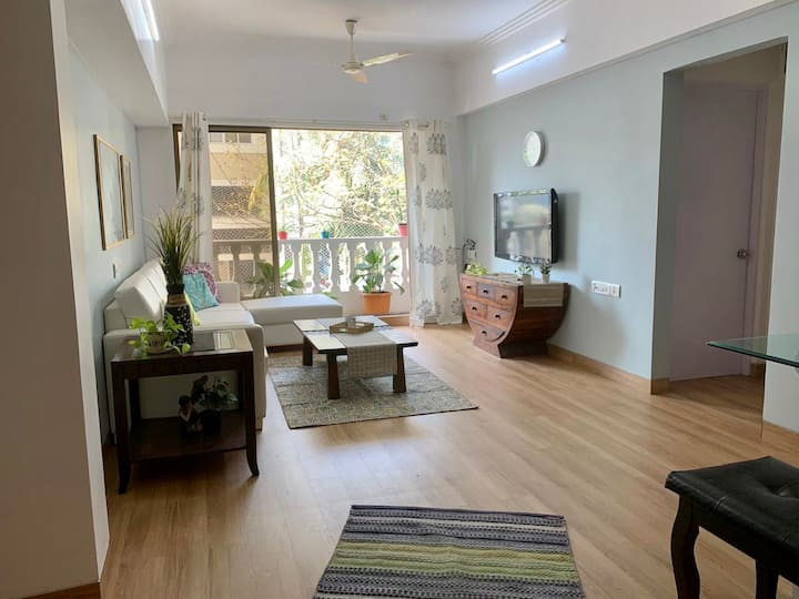 Entire 3 BR apartment with Balconies | Bandra |