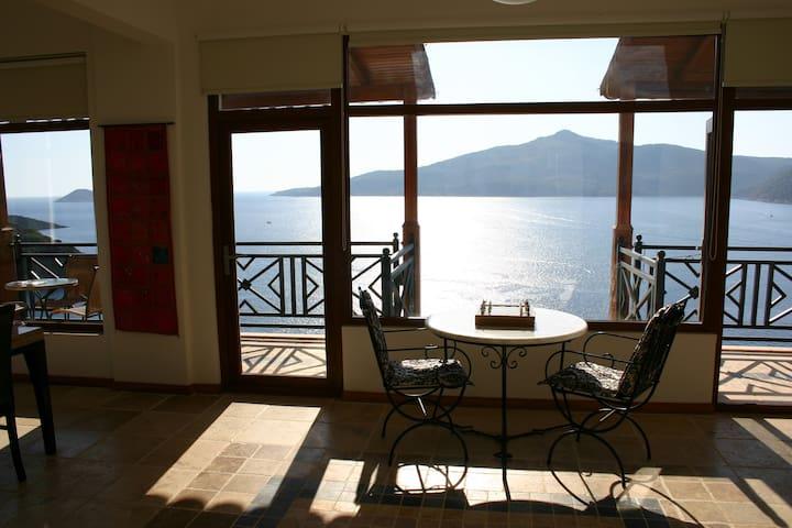 Eagles Nest Kishla - Best Views in Kalkan - Yeşilköy Belediyesi - Apartment