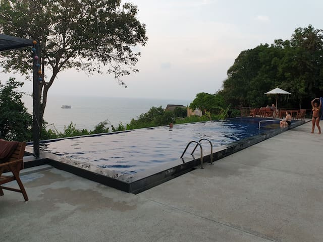 Comfortable house with Swimming pool#2-Srithanu