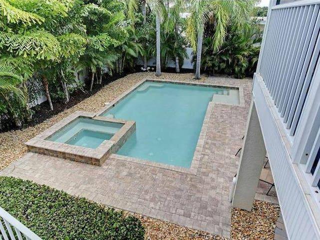 Pool and Hut tub Spa