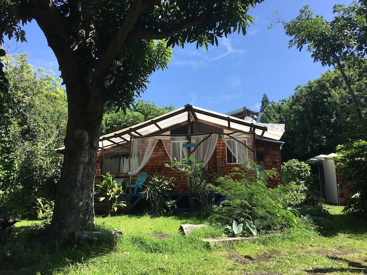 Nature Lover's Eco-Cottage close to Green Sands!