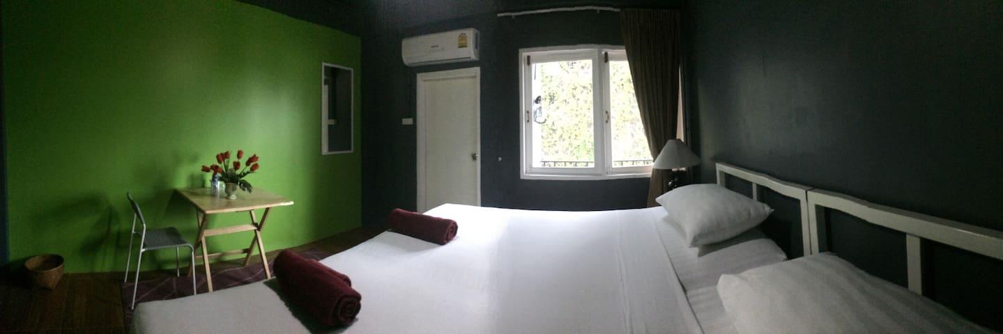 Convenient Large Room Sathorn, Short & Long Stays