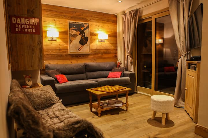 High-end apartment, immediate access to ski slopes