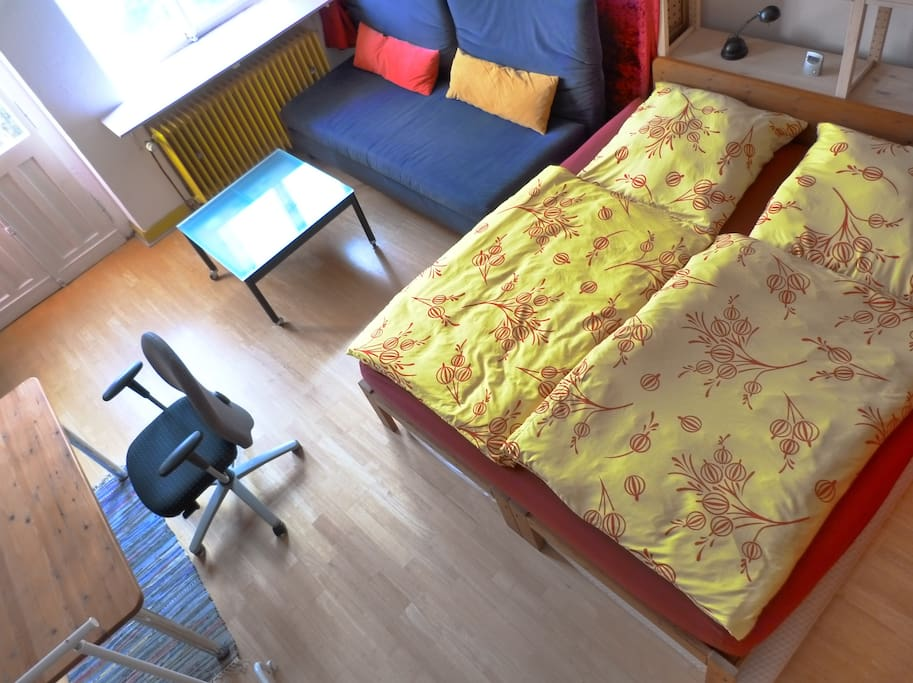 Gästezimmer mit Doppelbett ...