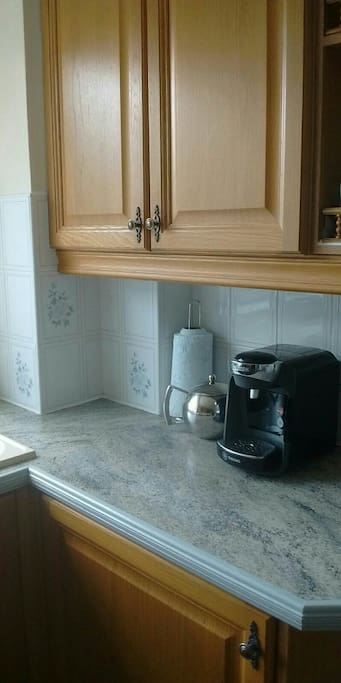 Kitchen, tassimo coffee machine