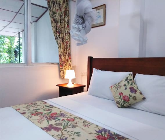 En suite King double with private balcony.