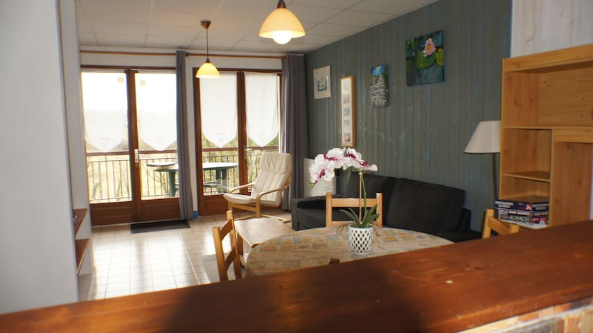 appartement au bord du lac de chalain - Marigny - Apartment