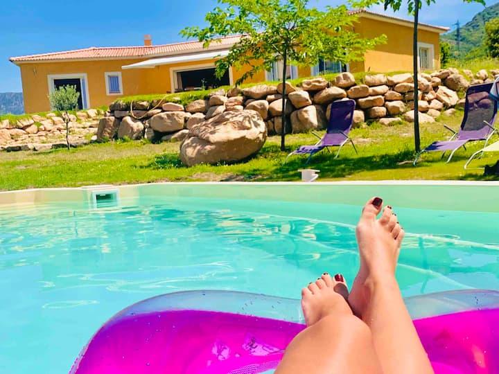 Superbe chambre d'hôtes avec piscine