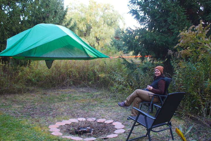 "Camp SkyTent ""Willow"": A Farm Manor Experience"