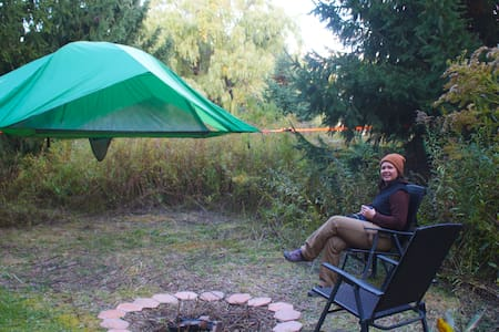 """Camp SkyTent """"Willow"""": A Farm Manor Experience"""