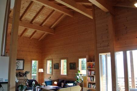 Ferienhaus, Chalet Furna,  Aussicht, Kamin & Sauna