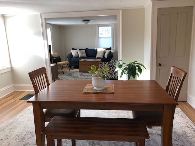 View of living/dining area