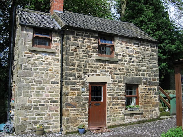 Halcyon Cottage, self-catering hols - Crich - Casa