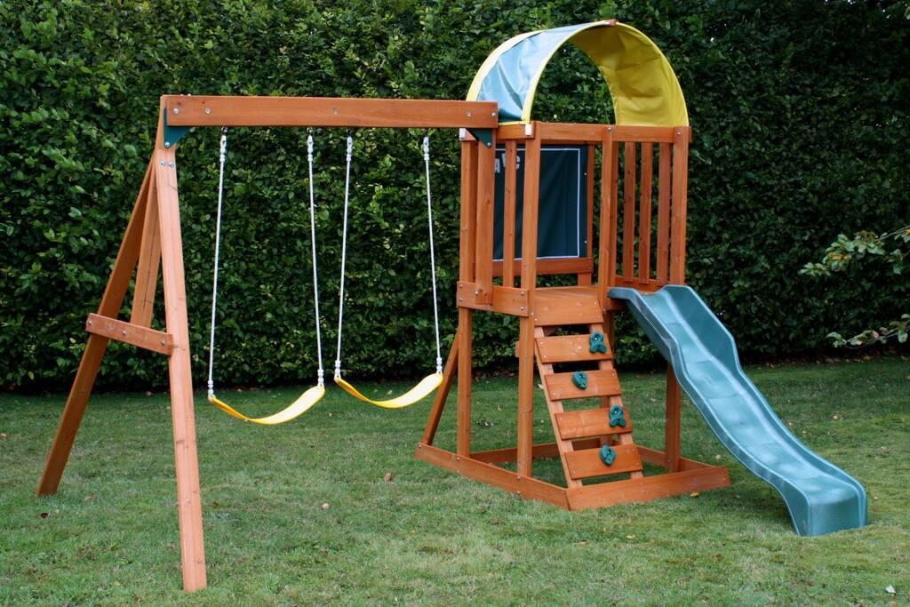 play ground around with nice park ..