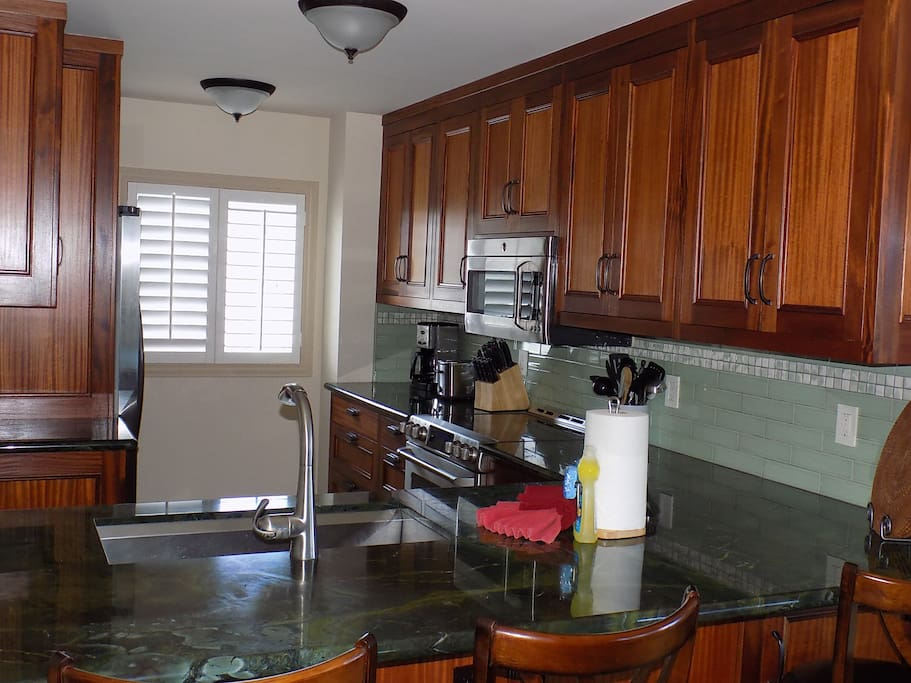 Kitchen equipped with state of the art appliances