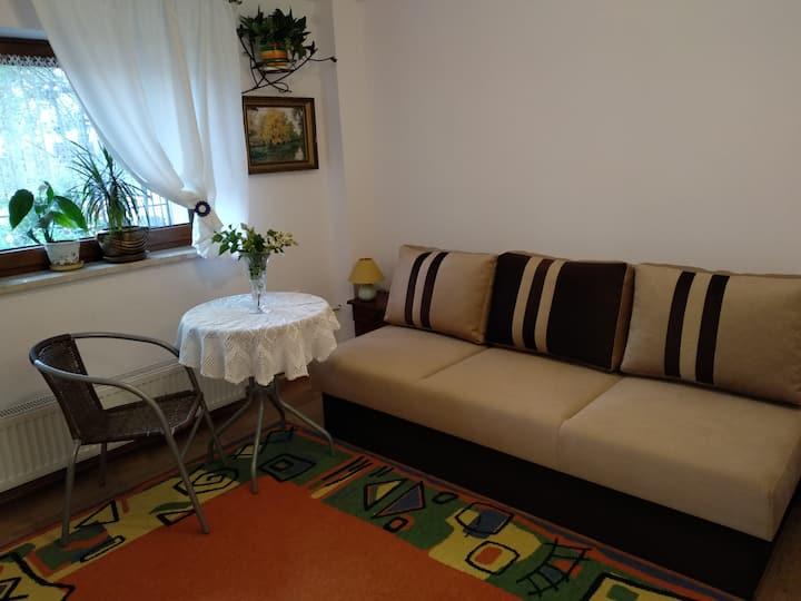 Niezależny apartament w domku jednorodzinnym
